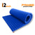 Pyramid Acoustic Foam Panel, European Blue, 6'x3'