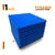"Pyramid Acoustic Foam Panel, European Blue, 1"" Set of 9 pcs"