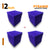 Pyramid Acoustic Foam Panel, Studio Purple, Set of 36 pcs