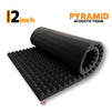 Pyramid Acoustic Foam 6x3 Ft | Colours Available