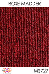 Acoustic Carpet Tiles - Rose Madder
