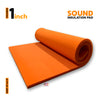 Sound Insulation Pad, MMT Orange, 1'' 6'x3'