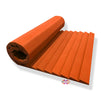 T - Wedge Acoustic Foam Panel, MMT Orange, 6'x3'