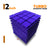 Turbo Acoustic Foam Panel, Studio Purple, Set of 9 pcs