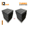Turbo Acoustic Foam 1x1 Ft | Set of 18 pcs | Colours Available
