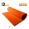 Wedge Acoustic Foam Panel, MMT Orange, 6'x3'