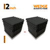Wedge Acoustic Foam 1x1 Ft | Set of 18 pcs | Colours Available