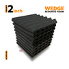 Wedge Acoustic Foam 1x1 Ft | Set Of 9 pcs | Colours Available