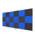 "Wedge Acoustic Foam Panel, (Black + Blue), 1"" Set of 18 pcs"