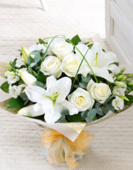 Deluxe Wonderfully White Hand Tied