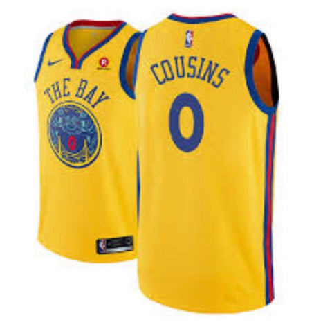 DeMarcus Cousins Golden State Warriors Jersey