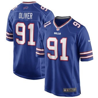 ED OLIVER Buffalo Bills Jersey