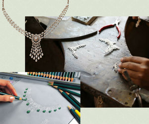 Bespoke jewellery design and manufacturing by Ratnali jewels