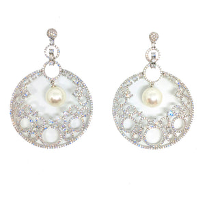 lightweight chandbali chandelier earrings