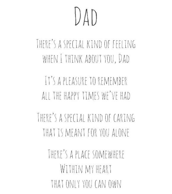 Dad - A place within my heart