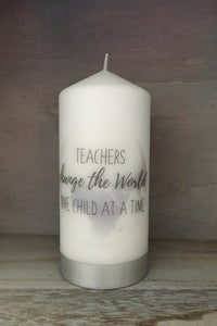 Teachers change the World, one child at a time
