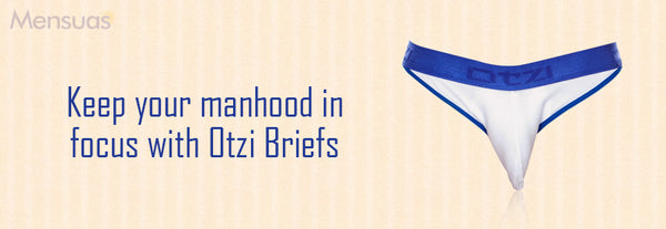 Keep your manhood in focus with Otzi Briefs