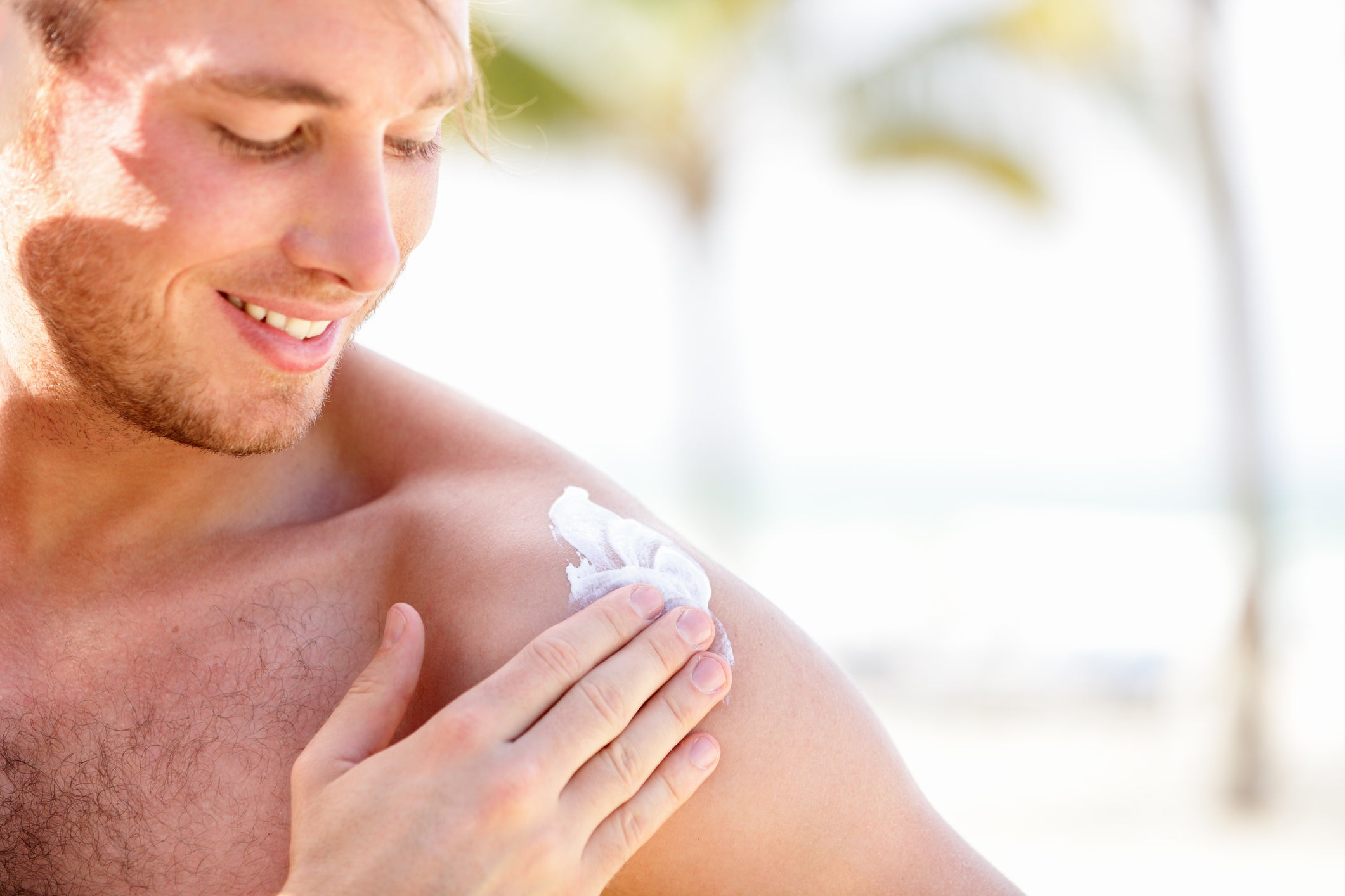 Protect the skin from sunburn