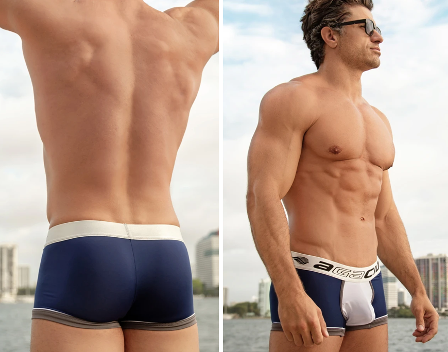 Agacio AGG043 Racer Boxer Trunk for men