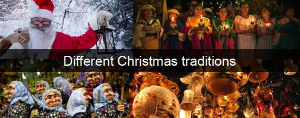 Different Christmas celebrations Around the World- Part 2
