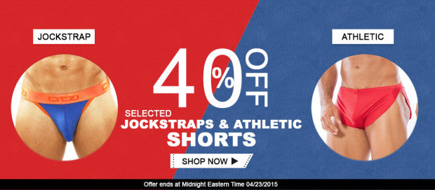 Jockstraps & Athletic Shorts Sale - Mensuas