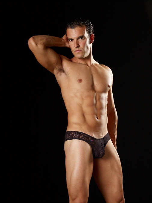 Joe Snyder Lace Mini Cheek | Men's Underwear | Mensuas
