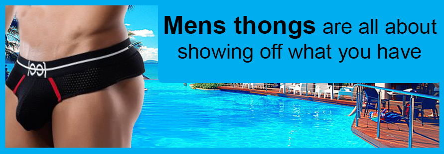thongs for men