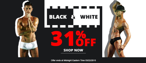 Black & White Sale - Mensuas
