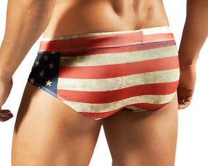 Clever 0560 Flag Swimsuit Brief