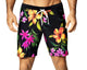 Vuthy 319 Hibiscus Swimsuit Board Short
