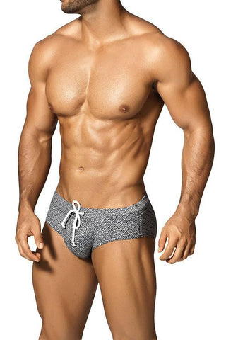 Vuthy 327 Muted Swimsuit Brief Gray
