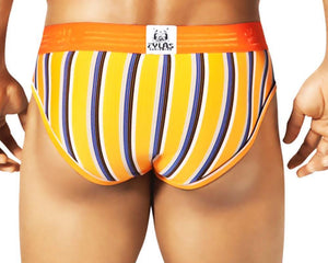 Zylas 4034 Thick Stripe Brief