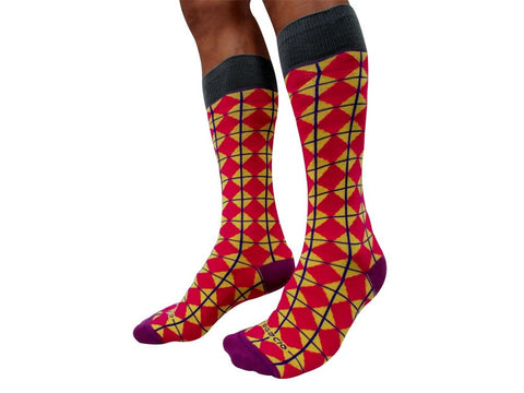 Agacio AG090010 Executive Diamonds Sock