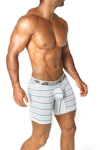 Agacio AG5922  Long Boxer Stripes