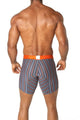 Agacio AG5948  Long Boxer Horizontal Stripes