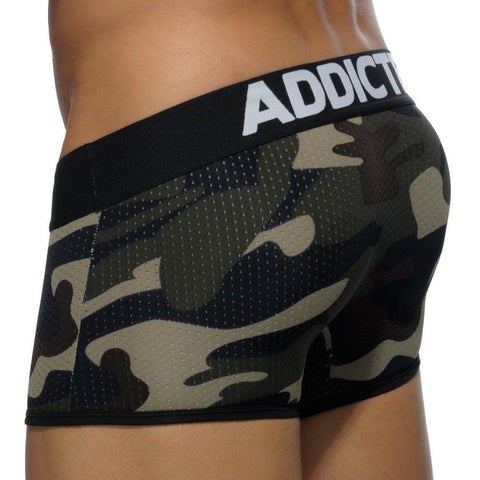 Addicted AD497 Contrasted Mesh Boxer