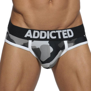 Addicted AD579 Basic Camo Brief