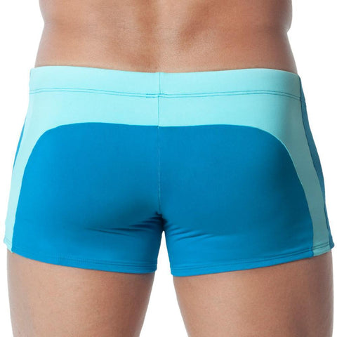 CandyMan CA99220 Mixed color block Swim Trunks