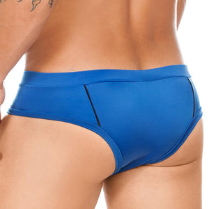Cover Male CM717 Passionate Desire Swim Trunk Royal/Black Blue