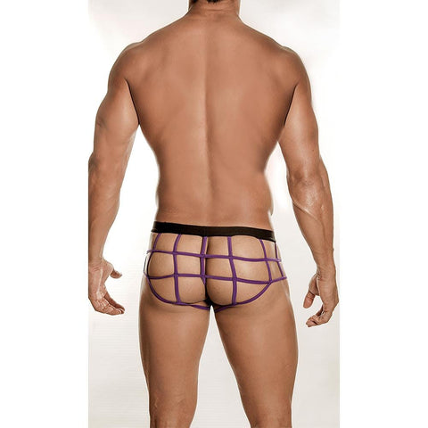 Good Devil GD6002 Purple Web Brief