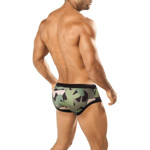 Intymen INT0589  Army Fatigue Swim Boxer
