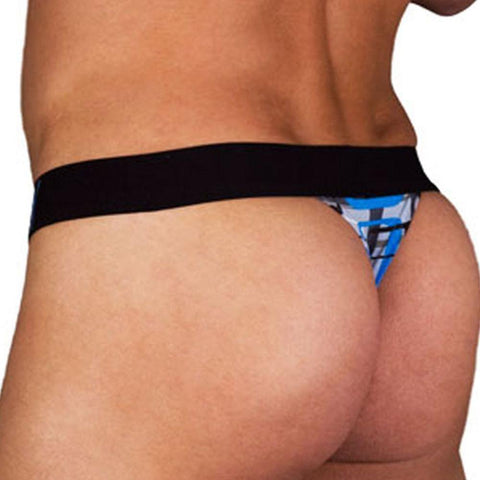 Obviously MFH  Geometric Low Rise Thong