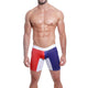 Mensuas MN0844 France Flag Long Boxer