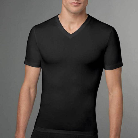 Spanx Cotton Compressed V-Neck