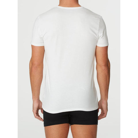 Parker & Max PMFPCS-TCN1  Classic Cotton Stretch Crew Neck T-Shirt