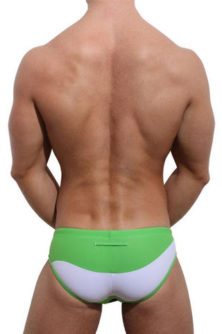 Aware SoHo SW001  Wave Swim Brief Apple