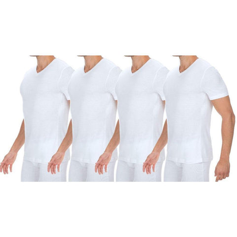 Tommy Hilfiger 09T0002100 Pack of 4 Classic V-Neck Tees