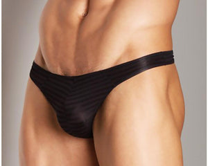 Good Devil GD7555  Horizontal Lines Thong
