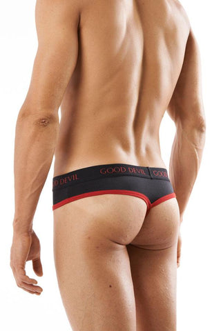 Good Devil GD8737  Pouch Wrap G-String