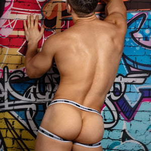 Good Devil GDU022 Metal Ring Jockstrap